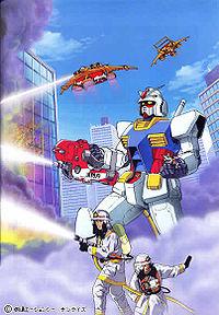 Gundam in Battle